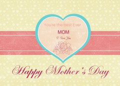 Happy Moder's Day Template In After Effects, Pattern for Photoshop CC2015