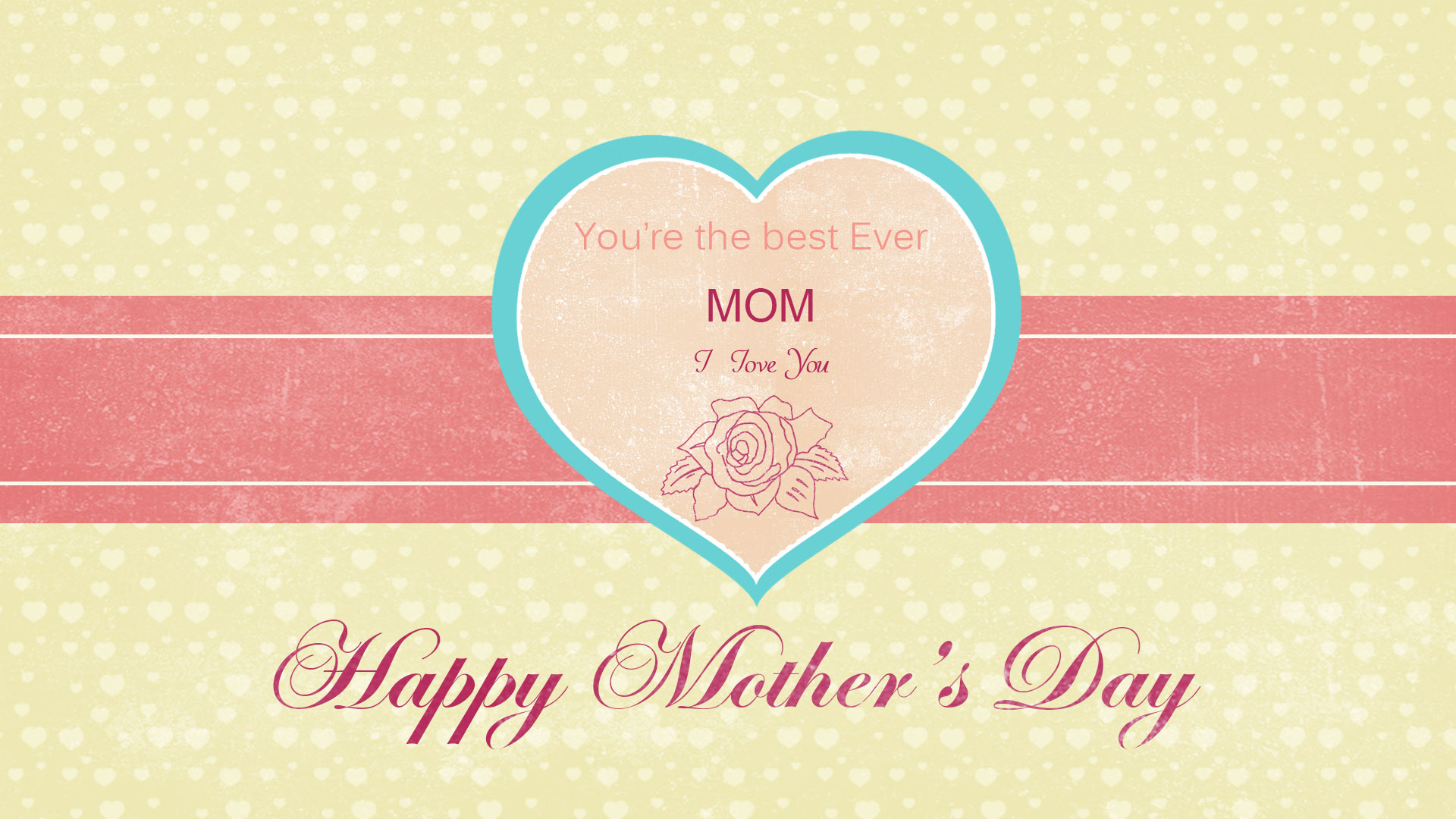 Happy Moder's Day Template In After Effects, Pattern for ...